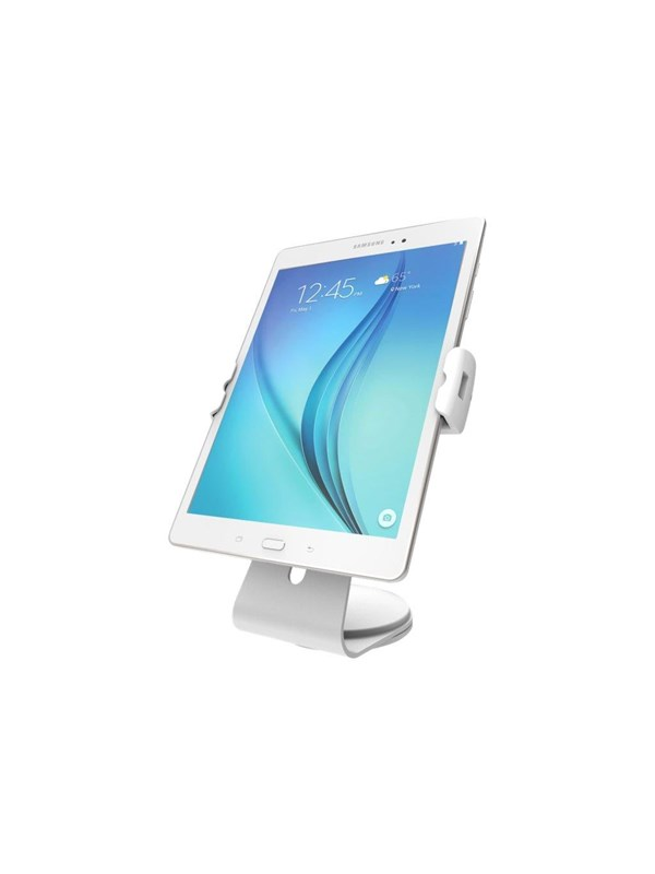 Image of   Compulocks Cling Stand - Universal Tablet Counter Top Kiosk - White