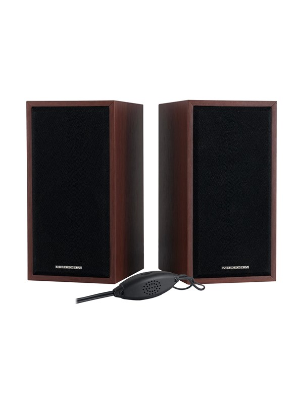 Image of   MODECOM MC-SF05 - speakers - for PC - Brun