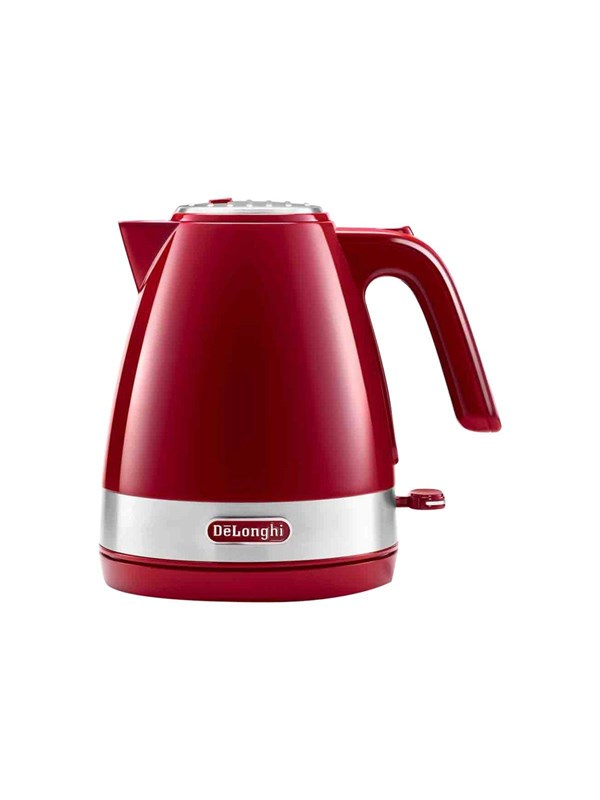 Image of   DeLonghi Elkedel Active Line - Passion red - 2000 W