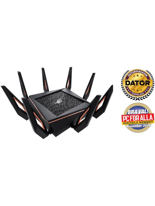 Image of   ASUS ROG Rapture GT-AX11000 - Trådløs router 802.11a/b/g/n/ac/ax