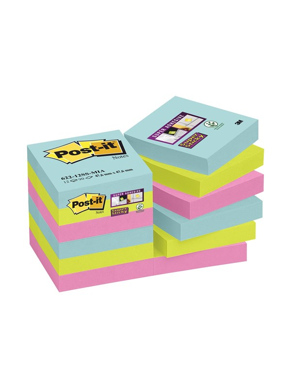 Image of   3M Post-it Super Sticky Miami