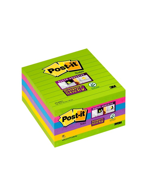 Image of   3M Post-it Super Sticky 675-6SSUC
