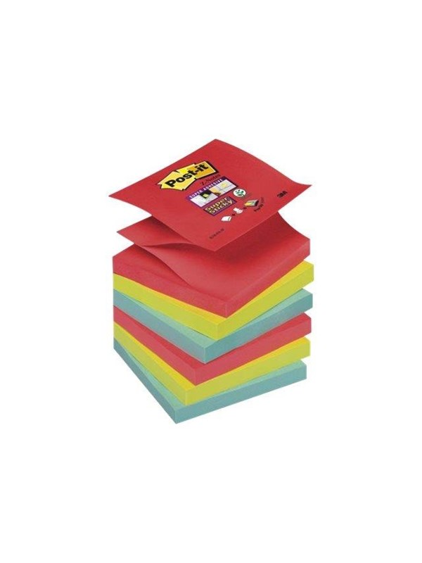 Image of   3M Post-it Super Sticky Z-Notes R330-6SS-JP