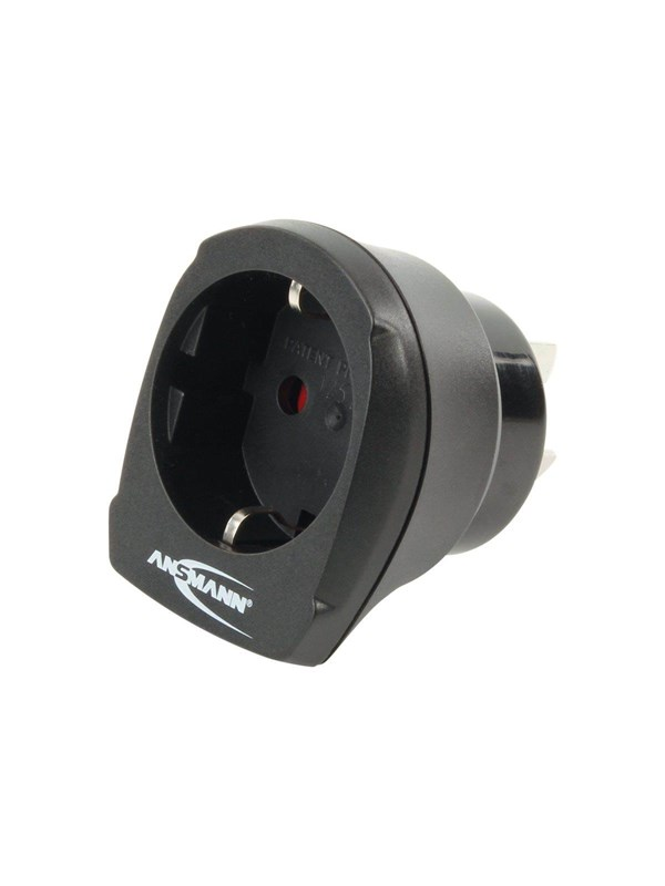 Image of   ANSMANN Travel Adapter EU to AU