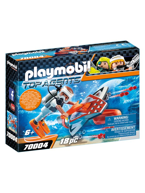 Playmobil Top Agents - SPY TEAM Subwing