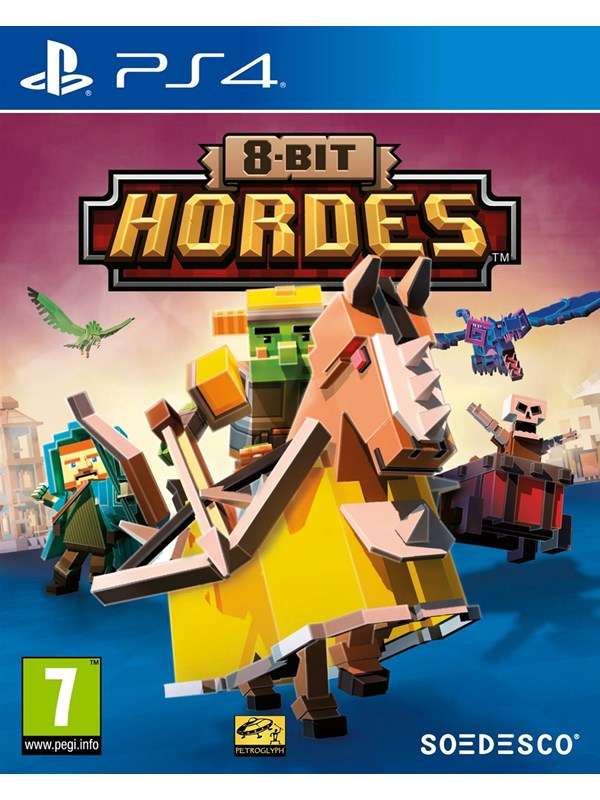 Image of   8-Bit Hordes - Sony PlayStation 4 - Strategi
