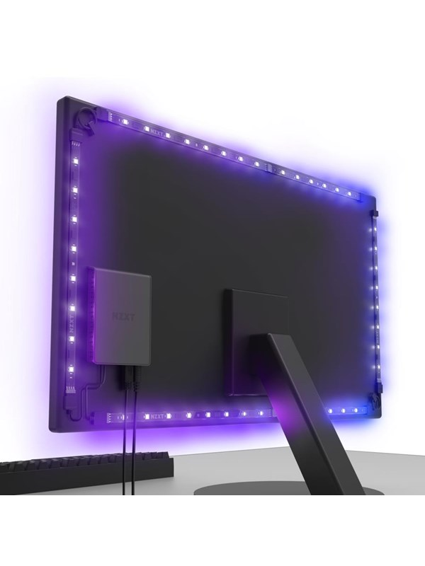 "Image of   NZXT HUE 2 Ambient RGB Light Kit (v2) 21""-25"" & 34""-35"" monitors"