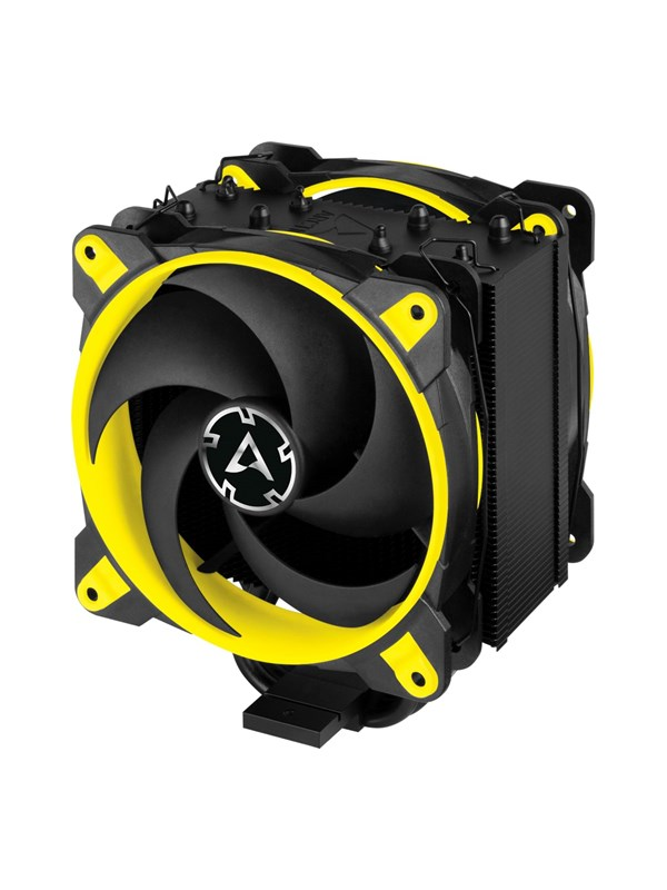 Image of   Arctic Freezer 34 eSports DUO - Yellow CPU Køler - Luftkøler - Max 25 dBA