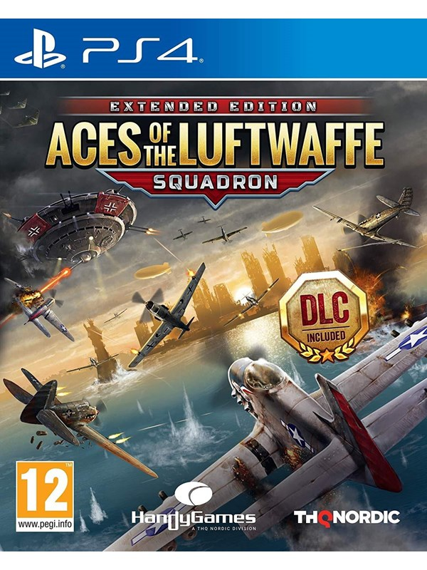 Image of   Aces of the Luftwaffe: Squadron - Sony PlayStation 4 - Action
