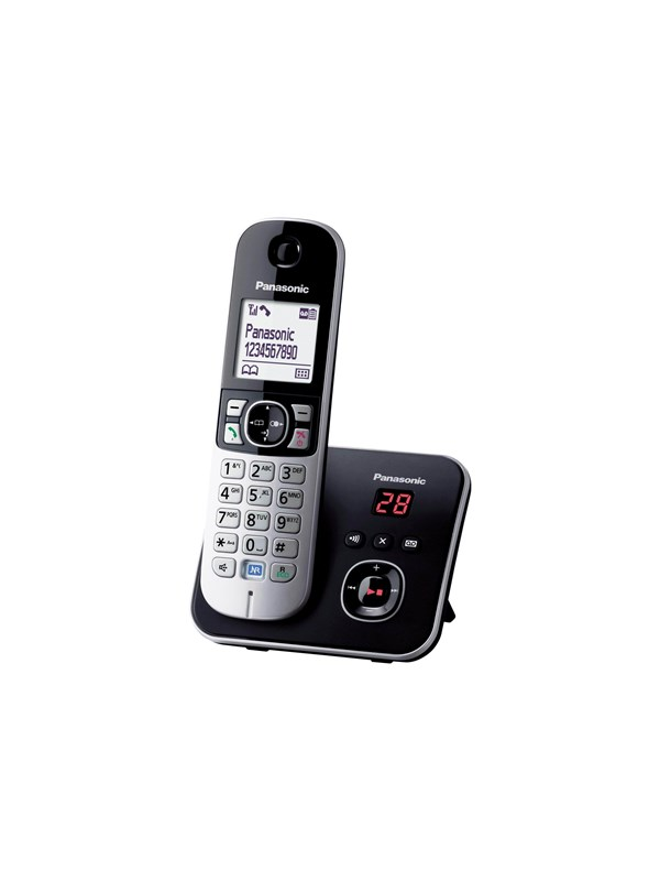 Image of   Panasonic KX-TG6821 - cordless phone - answering system with caller ID
