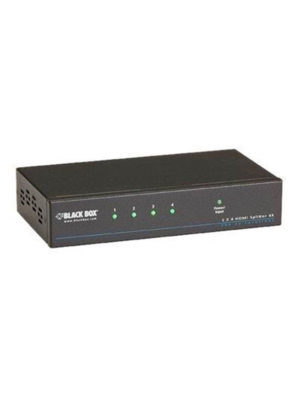 Image of   Black Box 4K HDMI Splitter 1 x 4