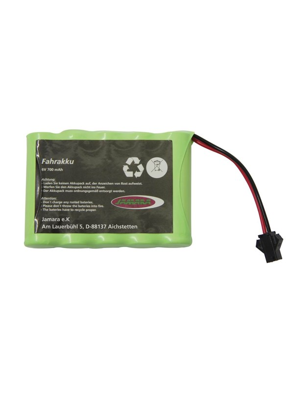 Image of   Jamara Battery Derago-Ramor-Swat-Forester 6V 700mAh NiMh