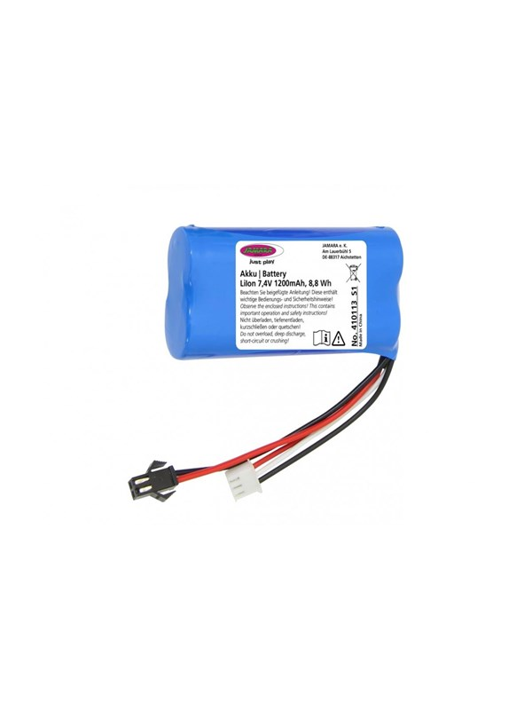 Image of   Jamara Battery J-Rock Li-Ion 7.4V 1200mAh 8.88Wh