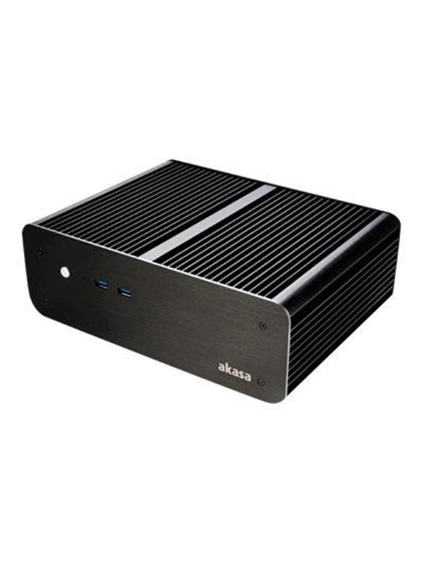 Image of   Akasa Euler MX - ultra small form factor - mini ITX - Kabinet - Ultra small form factor - Sort