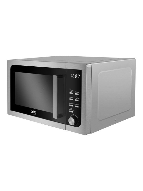 beko MOF23110X - microwave oven with grill - freestanding - stainless steel