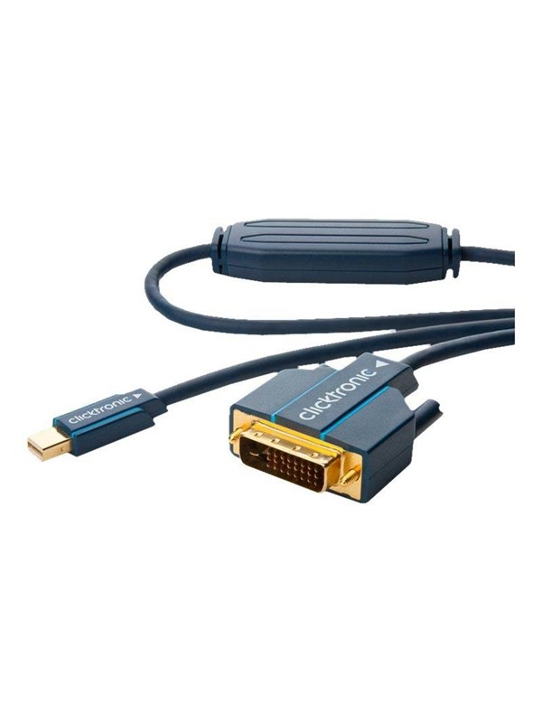 Image of   ClickTronic Mini DisplayPort/DVI Adapter Cable 2m