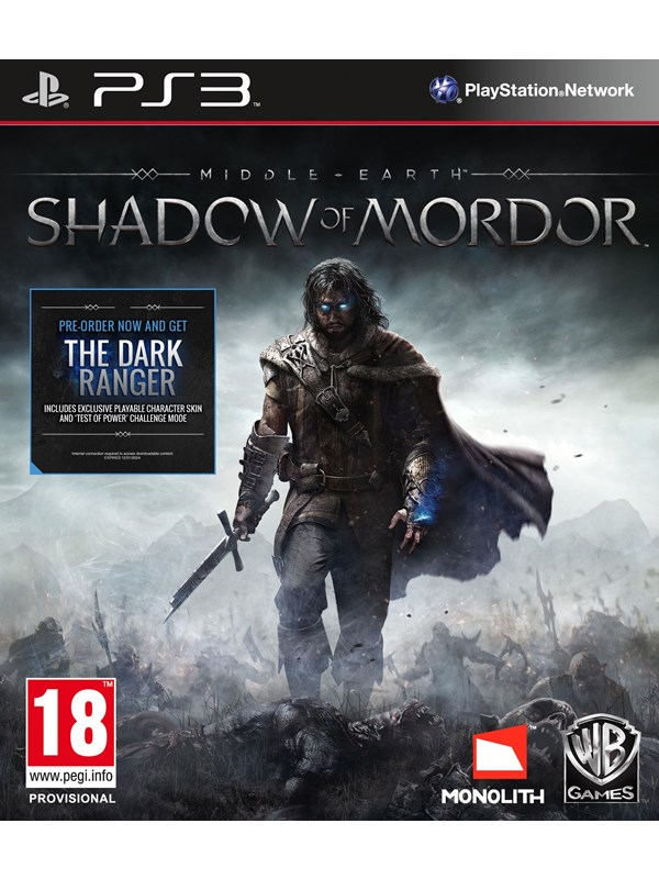 Middle-Earth: Shadow of Mordor - Sony PlayStation 3 - Action
