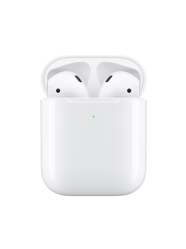 Image of   Apple AirPods (2019) with Wireless Charging Case - Hvid