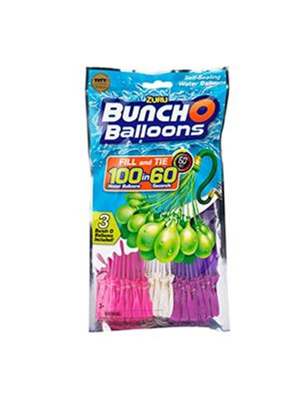 Image of   Bunch O Ballons Bunch O Balloons - 3-pack GIRL