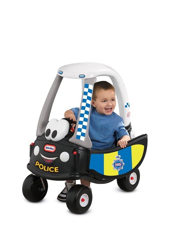Image of   Little Tikes Cozy Coupe Patrol Police Car