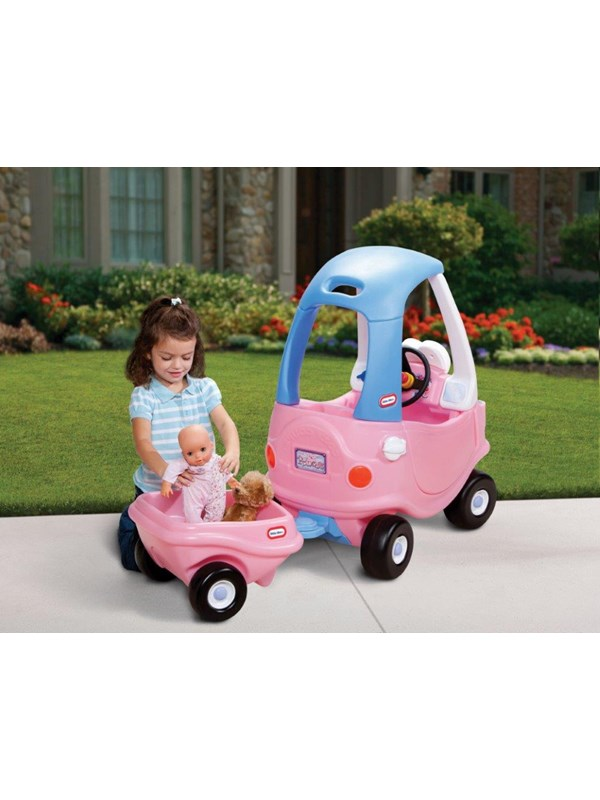 Image of   Little Tikes Cozy Coupe Trailer Princess (1 pk)