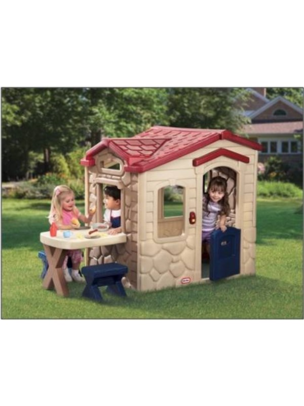 Image of   Little Tikes Picnic on the Patio Playhouse - Provencal