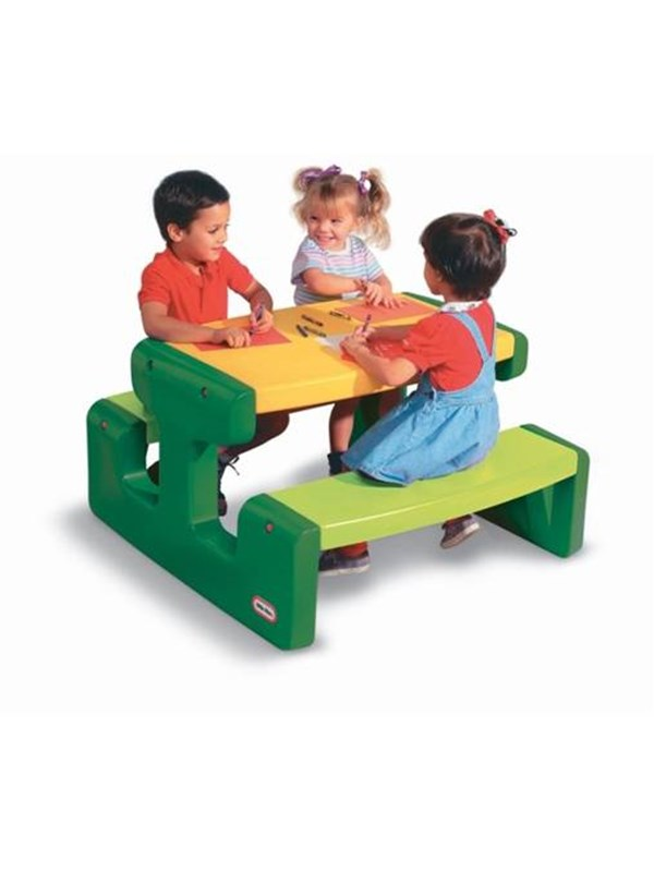Image of   Little Tikes Large Picnic Table - Evergreen