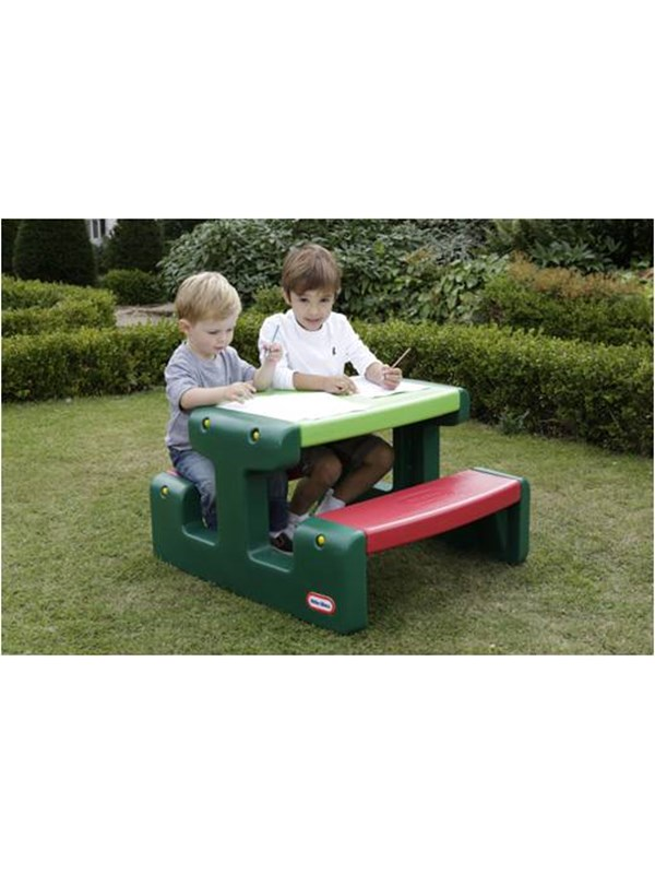 Image of   Little Tikes Large Picnic Table - Primary