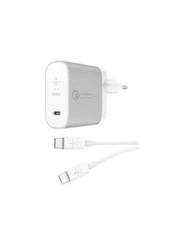 Image of   Belkin BOOST CHARGE USB-C Home Charger + Cable with Quick Charge