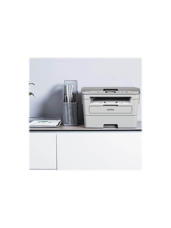 Image of   Brother DCP-B7520DW - multifunction printer - B/W Laserprinter Multifunktion - Monokrom - Laser