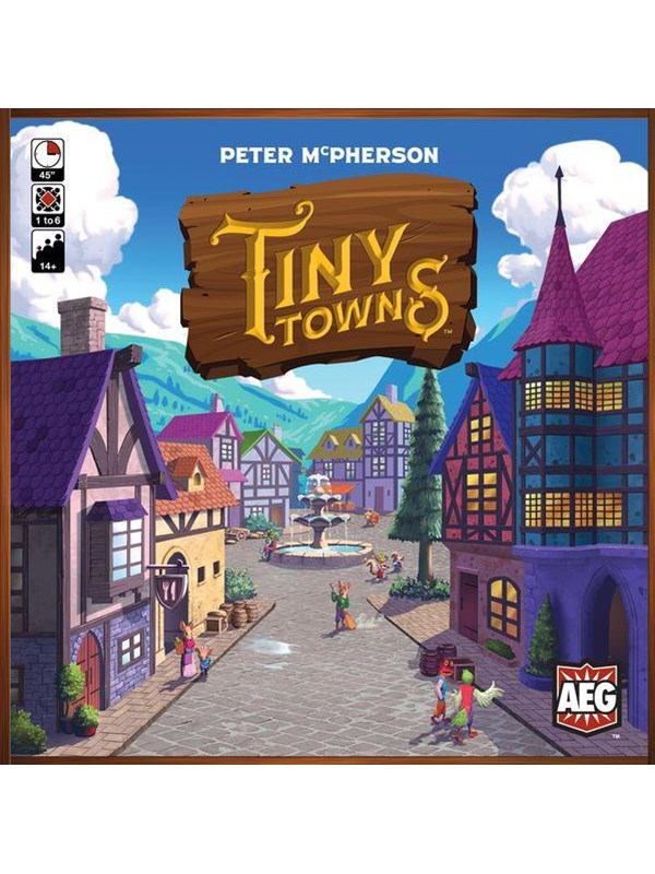 Image of   Asmodee Tiny Towns (ENG)