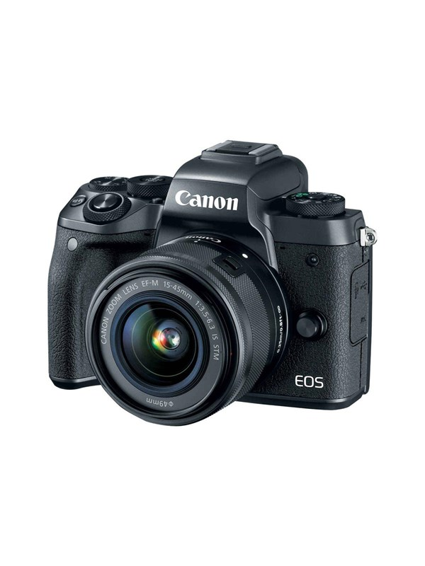 Image of   Canon EOS M5 15-45mm IS STM + Mount Adapter EF-EOS M