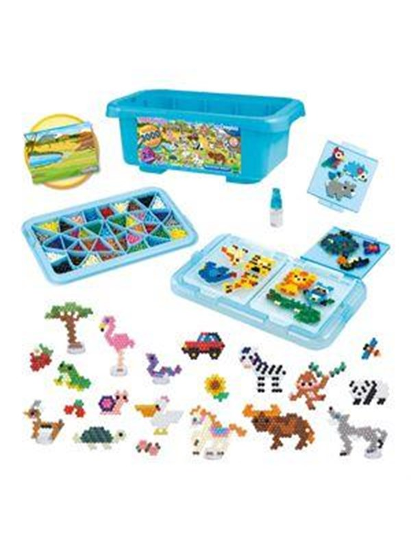 Image of   Aquabeads Box of Fun - Safari -
