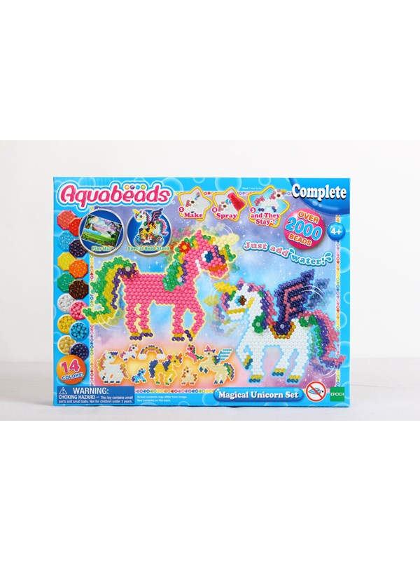 Image of   Aquabeads Magical Unicorn Set (movable parts)