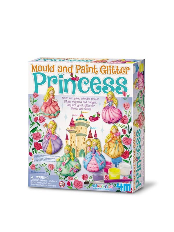 Image of   4M Mould & Paint-Glitter Princess-4M-3528