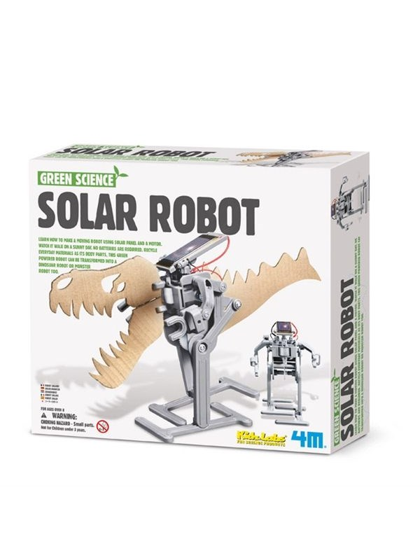 Image of   4M Green Science - Soldrevet Robot