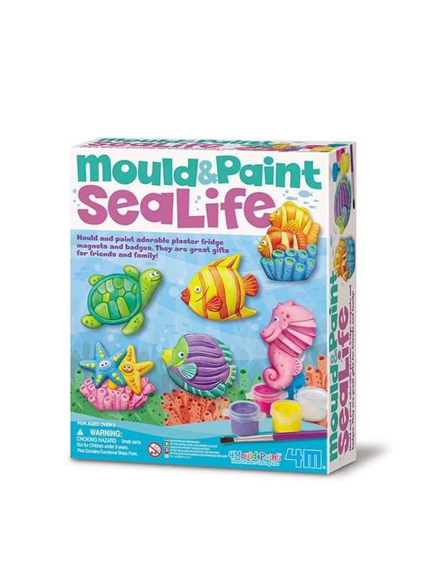 Image of   4M Mould & Paint-Sealife-4M-3511