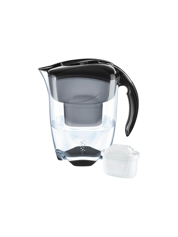 Image of   Brita Fill&Enjoy Elemaris XL - water filter jug - black - 3.5 L