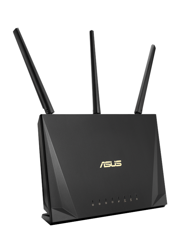 Image of   ASUS RT-AC65P - Trådløs router AC Standard - 802.11ac