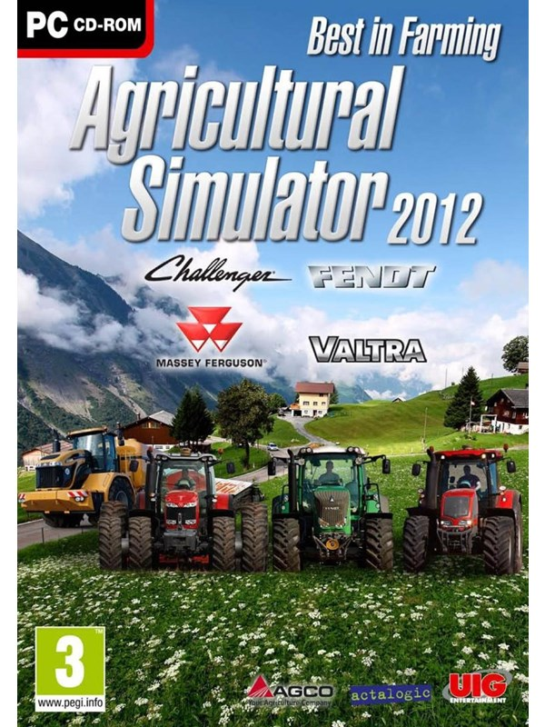 Image of   Agricultural Simulator 2012 - Windows - Simulator