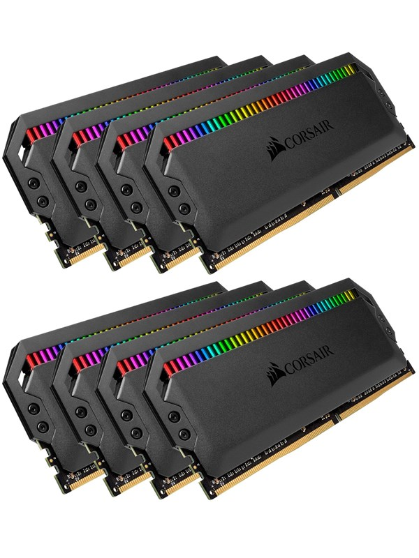 Image of   Corsair Dominator Platinum RGB DDR4-3200 C16 OC - 128GB