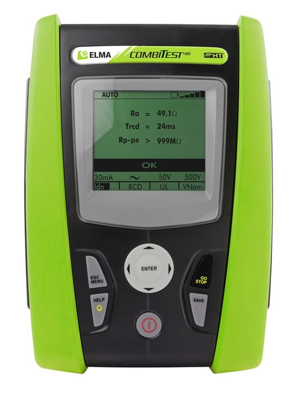 Image of   Elma Instruments Installationstest COMBI419 med soft