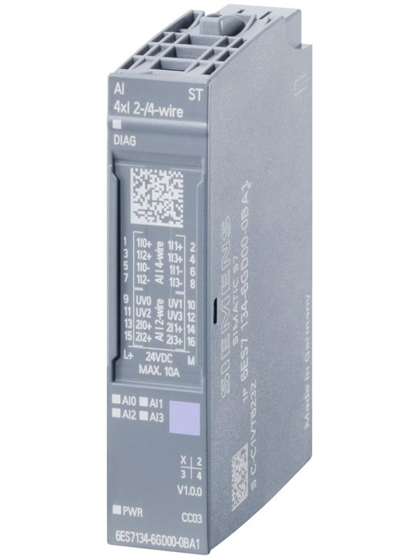 Image of   Siemens ET 200SP, AI 4XU/I 2-wire ST