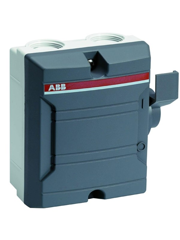 Image of   ABB Sikkerhedsafbryder 25A 3-pol M32+M16 BWS325TPN