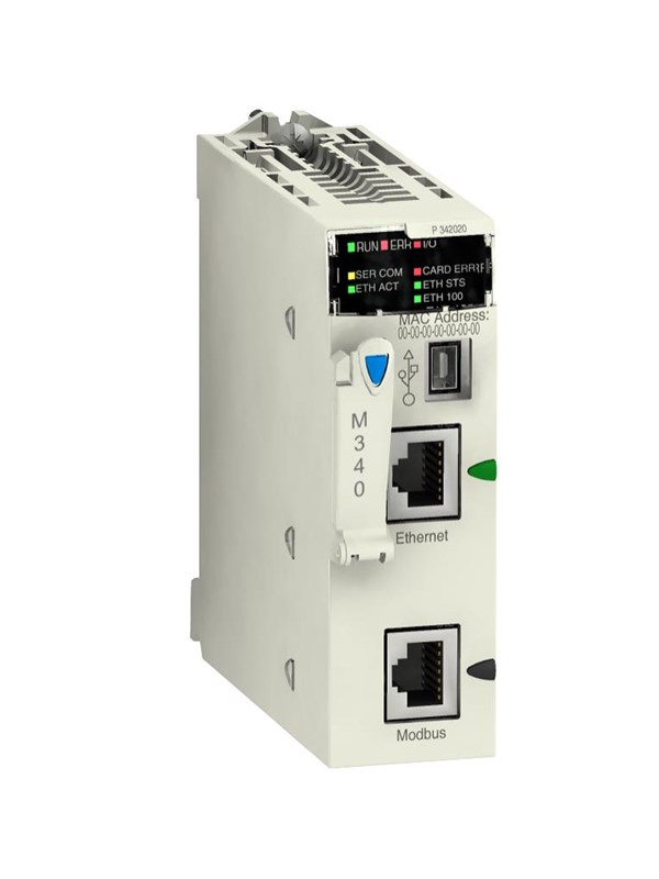 Image of   Schneider M340 cpu 4096KB modbus og ethernet