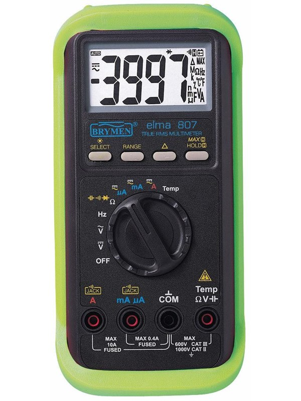 Image of   Elma Instruments Elma 807 multimeter digital