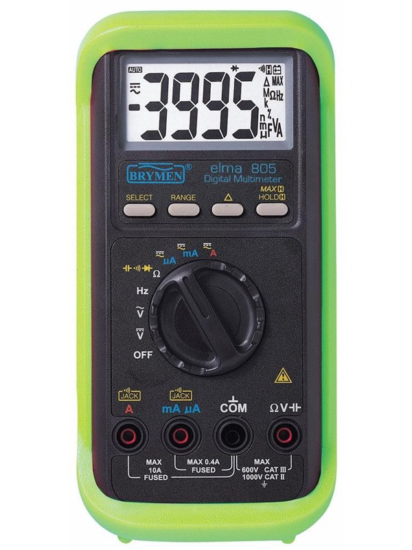Image of   Elma Instruments Elma 805 multimeter digital