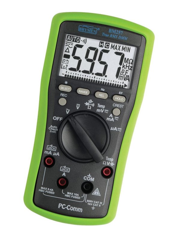 Image of   Elma Instruments Elma BM257 multimeter sand RMS