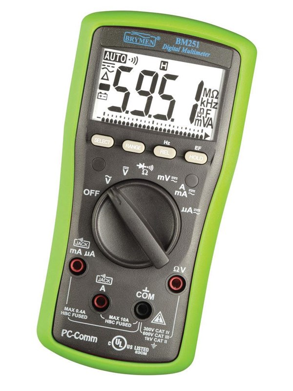 Image of   Elma Instruments Elma BM 251 multimeter med PC kommunikation