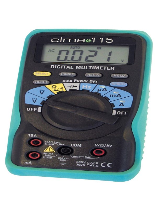 Image of   Elma Instruments Elma 115 multimeter digitalt med kapacitetsmåling